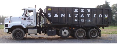Truck for Trash Removal, Commercial Recycling, and Dumpster Rental -Frederick, MD